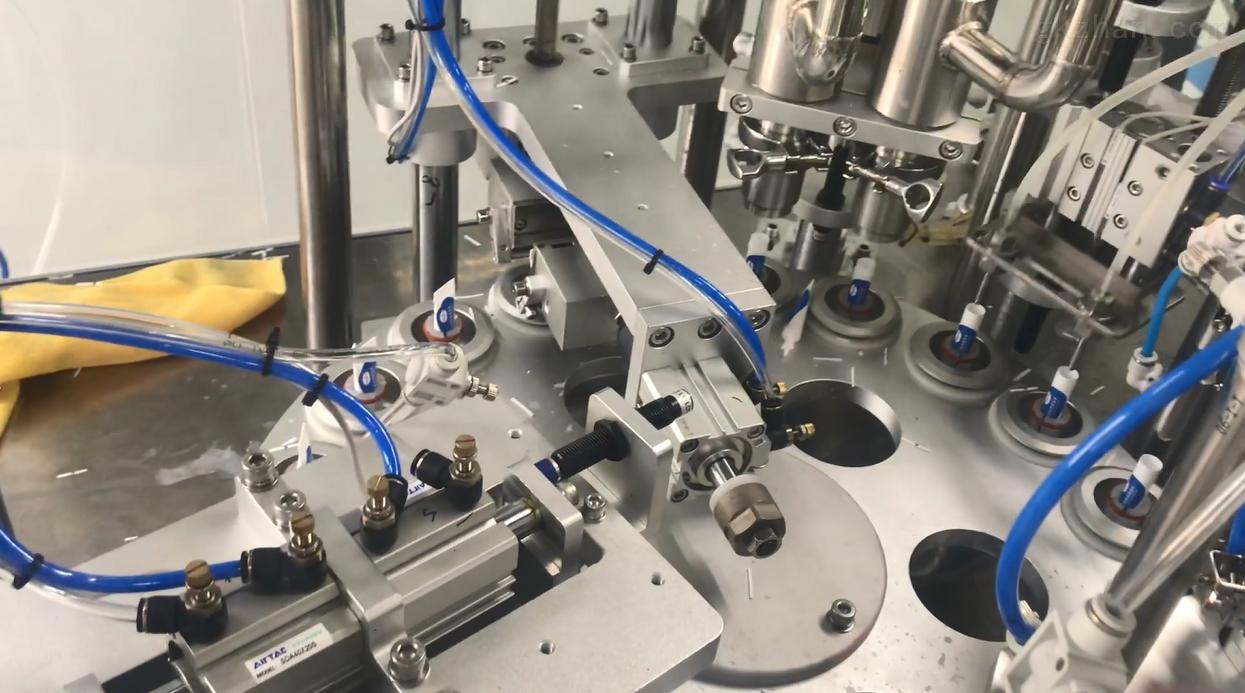 全自动液体微量灌装封尾机