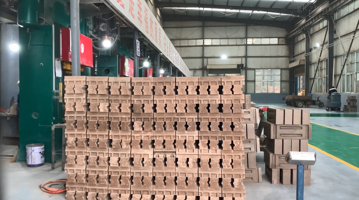 科瑞耐材生产厂部实景展示