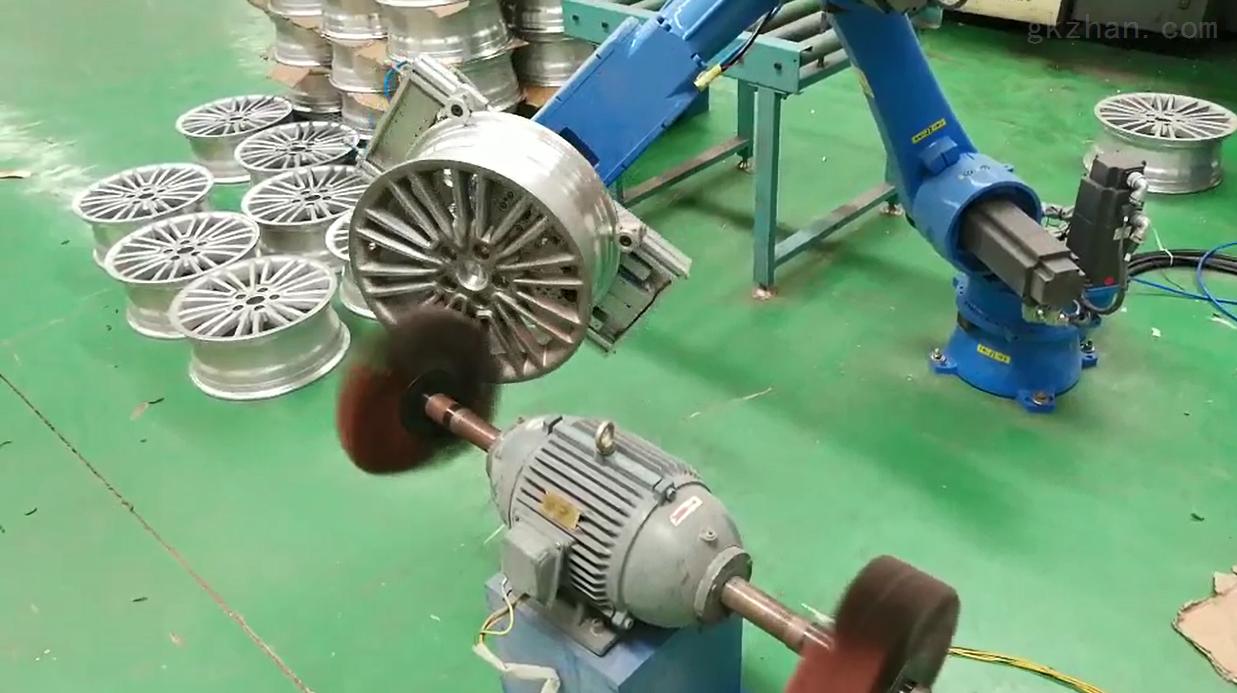 汽车加工自动化打磨机器人