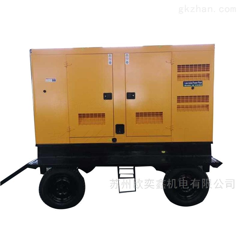 50KW柴油发电机组四缸水冷厂房电源