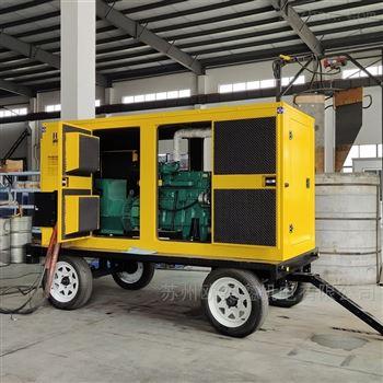 潍柴四缸30KW静音柴油发电机带ATS自启动