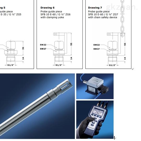 流量传感器HoentzschTA10 ... ZG1b系列