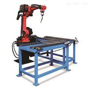 沐浴房拉手焊接机器人工作站