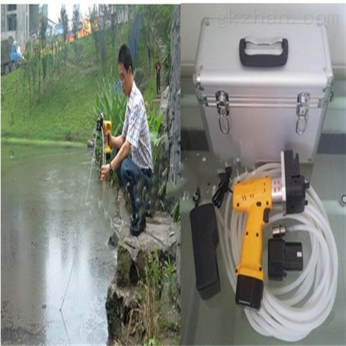 手持式电动深水采样器(中西器材)现货