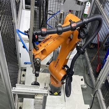 潍坊大世智能科技有限公司机器人涂胶工作站