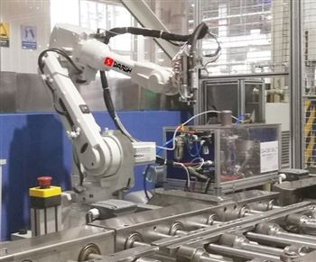 潍坊大世机器人拉铆工作站