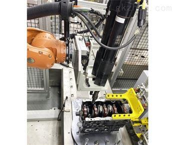 潍坊大世多轴机器人拧紧工作站