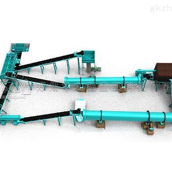 華之強生物有機肥生產線的全套設備生產流程
