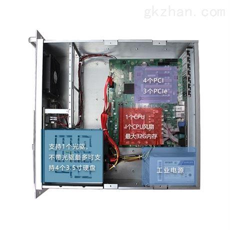 GITSTAR集特4U工控机双网六串口win7/10
