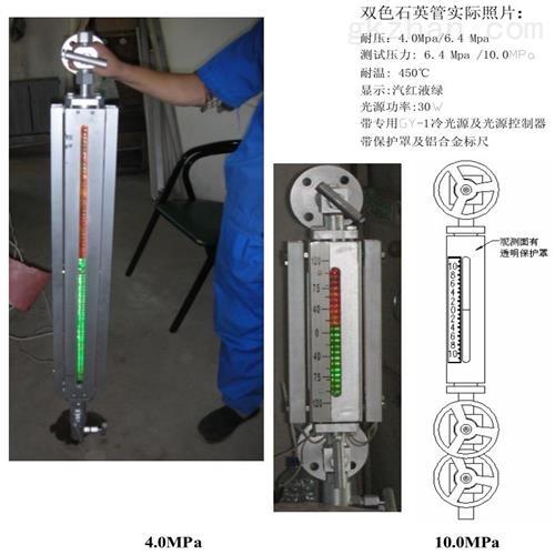 石英管式双色水位计 仪表
