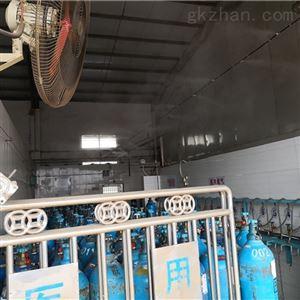PC-300PJ物流中心喷雾降温工程