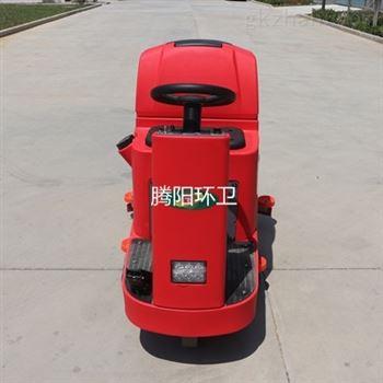 工厂使用腾阳电动驾驶式洗地机的原因