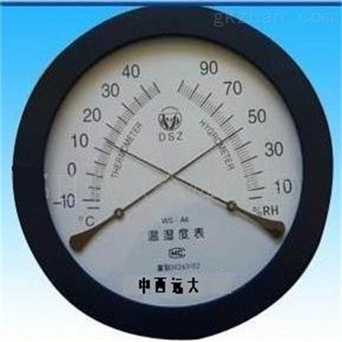 指针式温湿度计 仪表