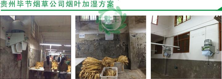 貴州畢節煙草公司煙葉回潮機案例2
