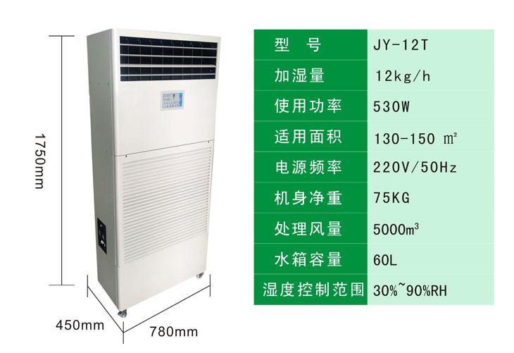 濕膜加濕器參數圖