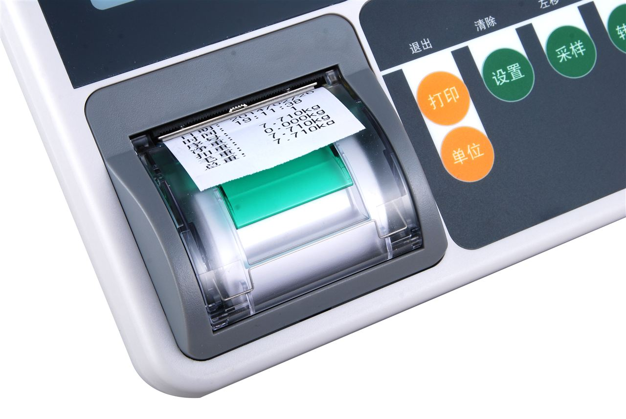 【亚津】T510P带打印显示器