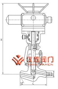 焊接截止阀