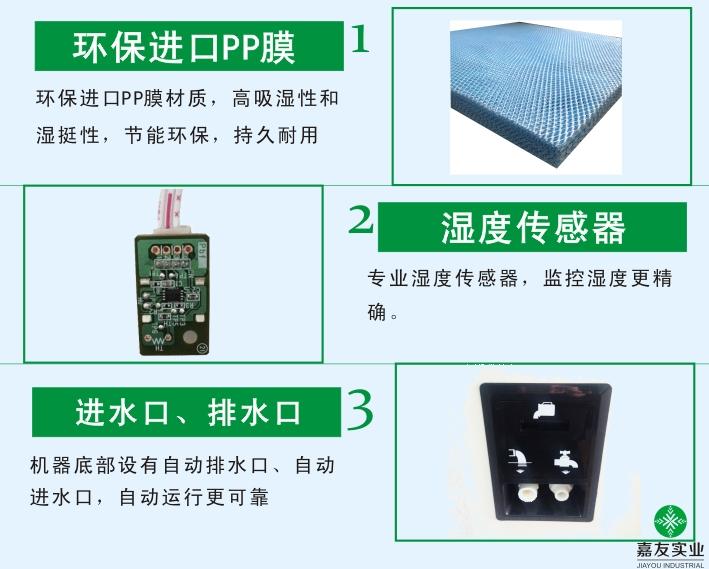 濕膜加濕器產品特性