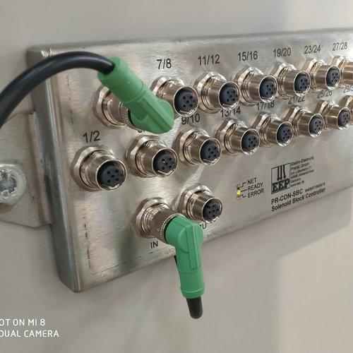 支架控制器M12航空插座组件
